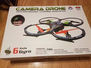 Camera Drone RC 2.4ghz 4ch 6 axis Gyro Super Stable (Spares or repairs)