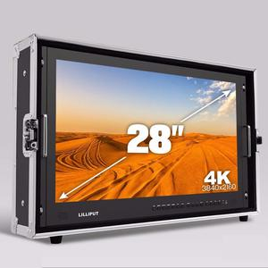 """Lilliput 4K - 28"""" broadcast monitor with HDMI and SDI connectivity"""