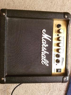 Marshall MG10CD guitar amp £60