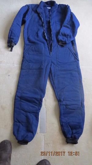 Thermal fleeced undersuit
