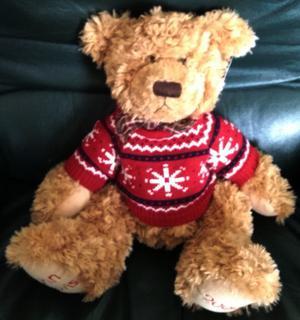 AS NEW. JOHN LEWIS LARGE TEDDY BEAR. .