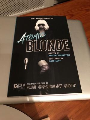 Atomic Blonde: The Coldest City graphic novel Charlize Theron
