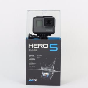 GOPRO Hero 5 Black Action Camera - Brand New with Receipt - RRP £