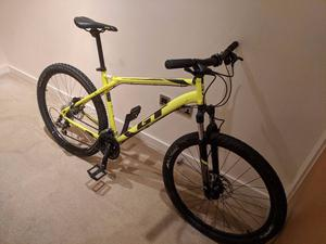 GT aggressor expert 27.5 hardtail mountain bike £400 ono