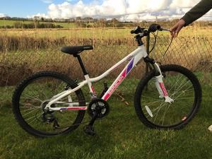 Girls Saracen Mountain Bike