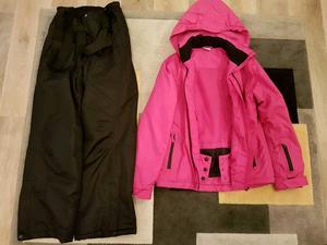 Girls Ski jacket & Salopettes size 11yrs-12yrs