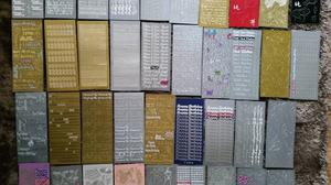 Huge Bundle Craft Peel Offs X57 Sheets
