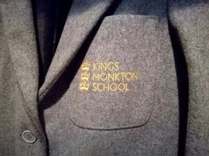 Kings Monkton School blazer size 7