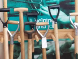 Lovely recycled garden tools from Hope