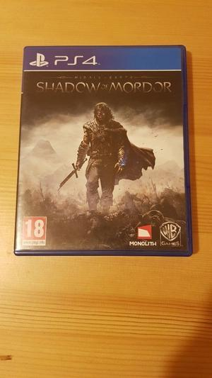 Middle Earth Shadow or Mordor PS4