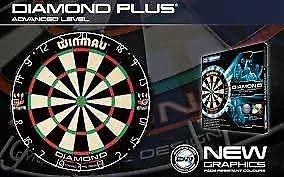 New Winmau Diamond Plus Darts Board Dartboard unopened original packaging