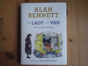 The Lady in the Van hardback book