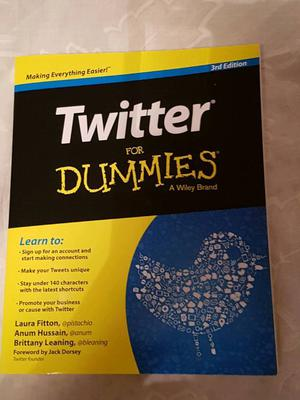 Twitter for Dummies Book