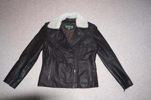 Women's Leather Flying Jacket