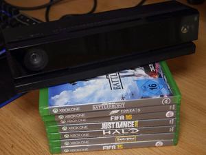 Xbox One Games Bundle + Xbox Kinect