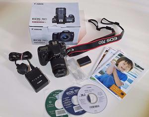 Canon EOS 70D 20.2MP Digital SLR Camera c/w EF-S IS STM mm lens
