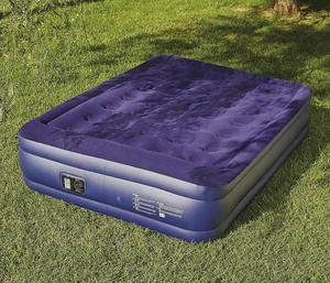 Double Airbed with built in electric pump to inflate and deflate
