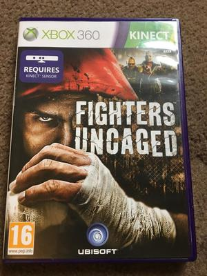 Fighters uncaged game for Xbox 360
