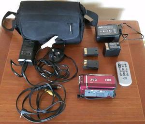 JVC Everio GZ-MG330 Camcorder Digital Video Camera HDD 30GB Hybrid & Accessories