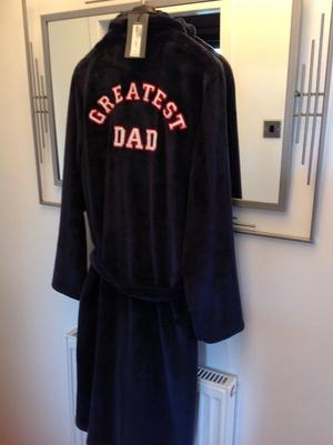 Men's M & S house coat / dressing gown NEW WITH TAG ON RRP £