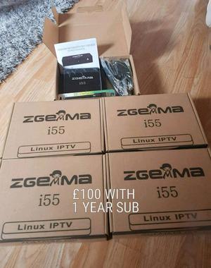ZGEMMA I55 + 1 YEAR I*P*T*V FULL PACKAGE £100