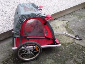 halfords bike trailer