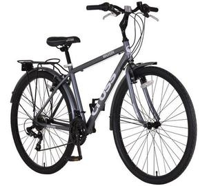 Cross 700C Hybrid Bike with Helmet