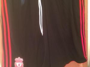 Liverpool soccer shorts