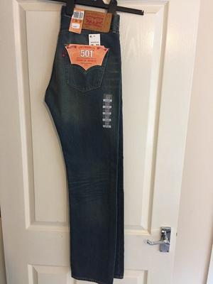 *NEW* Levi 501 Straight Leg jeans. Waist 30 Length 32
