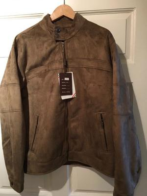 Suede look good quality jacket size