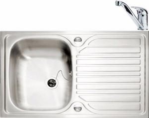 Caple Arrow Sink and Tap Pack - New