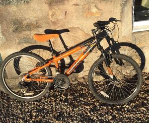 Childs Saracen TT Jnr Mountain Bike.