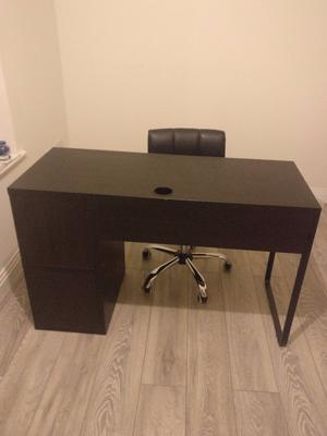Desk plus chair - Used but good condition