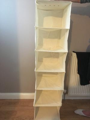 Hanging Shoe/Clothes Storage for Wardrobe Brand New