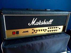 Marshall JVM 205H 50W head and Marshall x12 Cab with covers and accessories