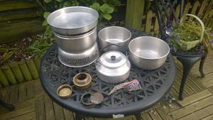 Original Trangia - 2-3 person stove and pan set