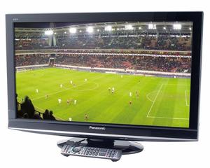 """Panasonic Viera 37"""" Widescreen HD TV With Remote & Built-In Freeview"""