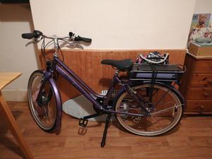 Raleigh pioneer women's electric bike