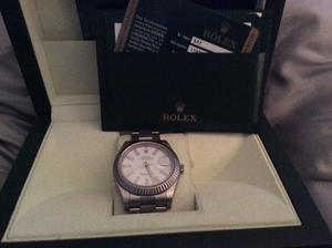 Rolex Oyster Perpetual Datejust II  box & card papers recipte like new,