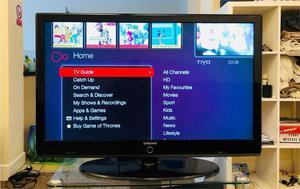 "Samsung 46"" Full HD p LCD TV"