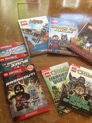 Selection of Lego reading books. Condition as new. PERFECT XMAS GIFT