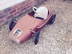 s All-Metal Pedal Racing Car, Original Condition, Southbourne