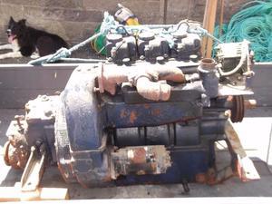 Air cooled lister 3 cylinder ST3 30hp Diesel engine inboard motor and box (Kinghorn)