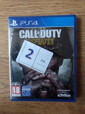 Call of Duty WWII for PS4, brand new sealed
