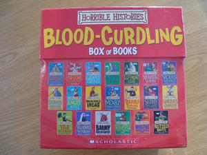 Horrible Histories - Brand New Unopened Boxed Set of 20 Books - Perfect Christmas Present - £