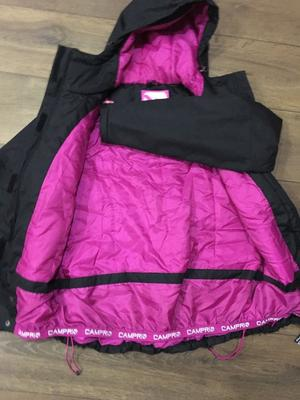 Womens black campri ski jacket size 12, worn once