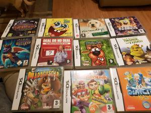 21 Nintendo Ds original boxed games