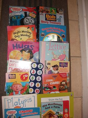 Children's books and educational books
