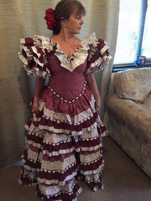 GENUINE FLAMENCO DRESS