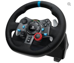 Logitech G29 Racing Wheel, Pedals And Gear Shifter Bundle + Free Gran Turismo